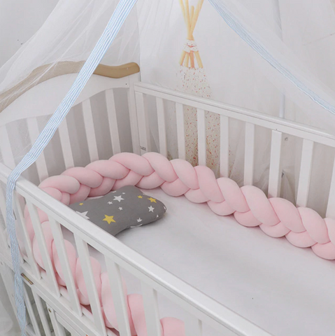 Bassinet Crib Bumper 1 m - Cozy Nursery