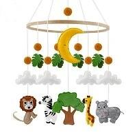 Jungle Baby Crib Mobile - Cozy Nursery