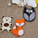 Woodland animals crib mobile