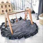 Baby Round Padded Play Mat - Cozy Nursery