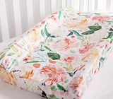Secret Garden Baby Changing Pad Cover - Cozy Nursery