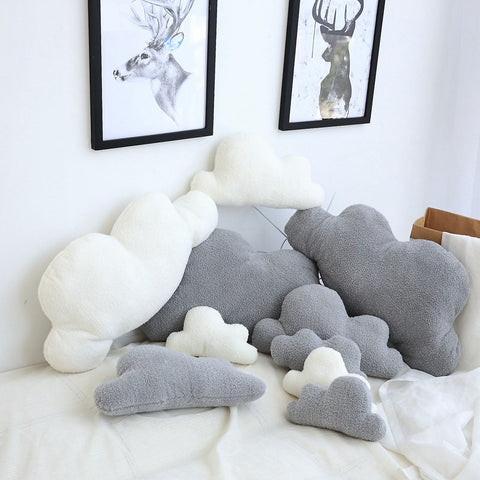 Cloud Shaped Pillow - Cozy Nursery