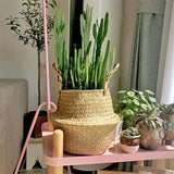 Seagrass Wicker Basket - Cozy Nursery