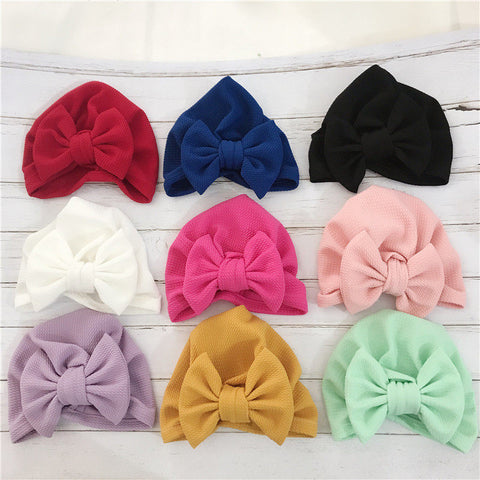 Big Bow Baby Turban - Cozy Nursery