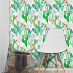 Cactus Wall Furniture Sticker Decals