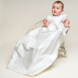 Vintage Baby Baptism Dress - Christening Gown - Cozy Nursery
