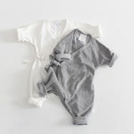 Baby Angel Wings Romper - Cozy Nursery