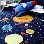 Space Rocket Bedding Set for Kids