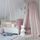 Baby Crib Canopy 100% Cotton - Cozy Nursery
