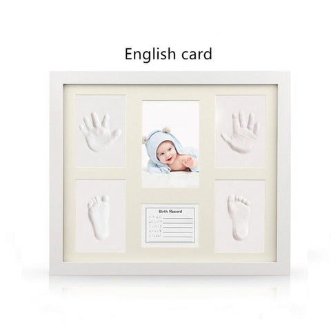 New Baby Handprint and Footprint Frame Kit - Cozy Nursery