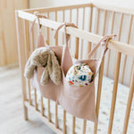Crib Fabric Organizer - Cozy Nursery