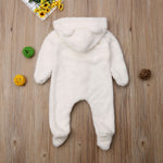 Ear Hooded Baby Romper - Cozy Nursery