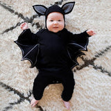 Bat Long Sleeve Jumpsuit