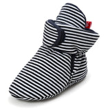 Baby Stripe Pre-Walker Booties