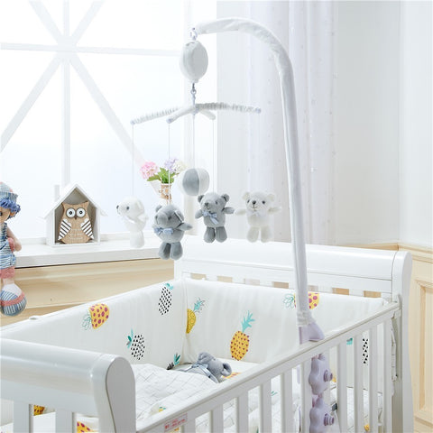 Bears Musical Crib Mobile - Cozy Nursery