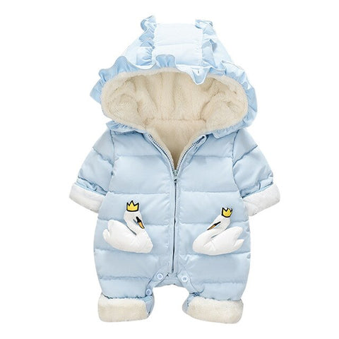 Newborn Winter Jumpsuit