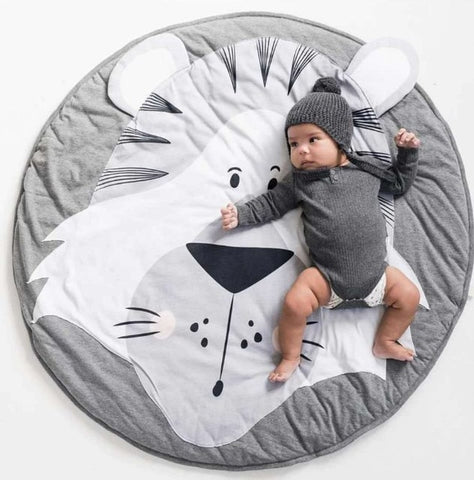 Zoo Animals Play Mat - Cozy Nursery