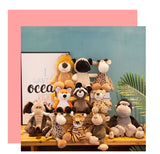 Baby Jungle Animals Plush Toys - Cozy Nursery