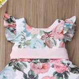Princess Toddler Flower Lace Dress