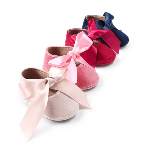 Butterfly Knot Baby Shoes - Cozy Nursery