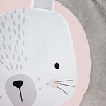 Rabbit Baby Play Mat - Cozy Nursery