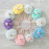 Nordic Wooden Beads Baby Room Ornament - Cozy Nursery