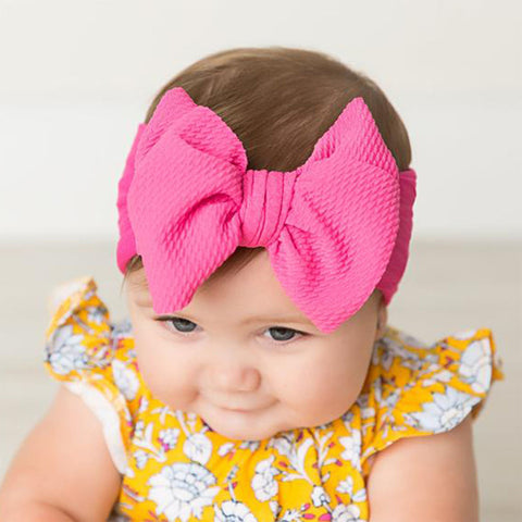 Cute Bow Baby Headband