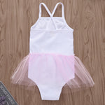 Blushing Bunny Tutu Skirt Swimsuit - Cozy Nursery