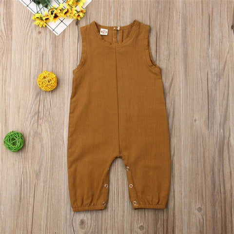 Summer Newborn Romper - Cozy Nursery