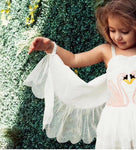 Girls Flamingo Dress With Movable Wing