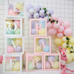 Box Name Baby Party Decor