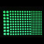 Luminous Stars Dots Wall Sticker