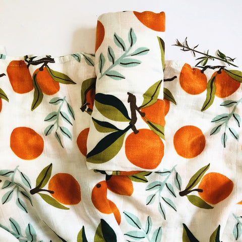 Clementine Muslin Swaddle 120x120