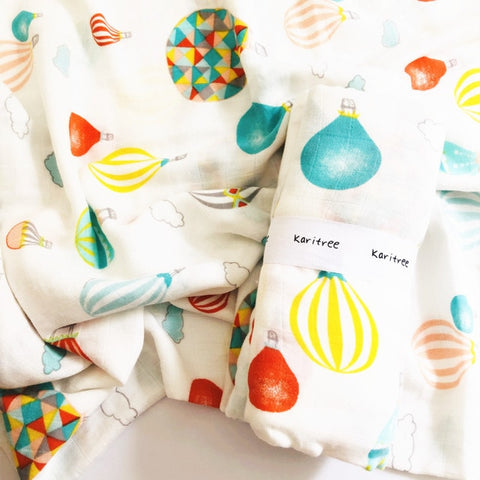 Balloons Baby Swaddle 120x120