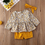 Long Sleeve Floral Top Set - Cozy Nursery