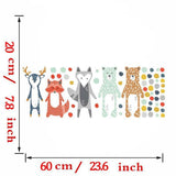 Nordic Forest Animals Wall Stickers
