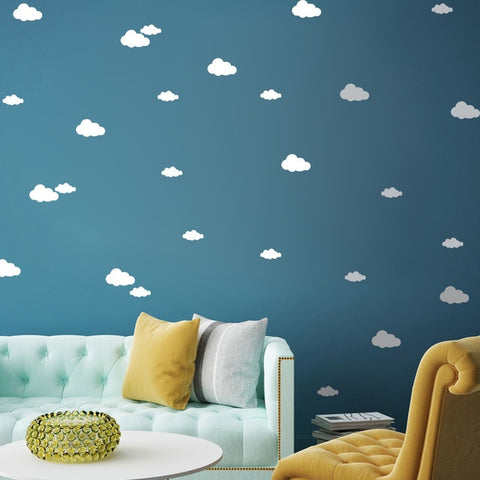 Clouds Wall Stickers 48PCS/set