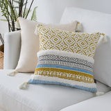 Moroccan Style Pillow Cover with Tassels  45x45cm - Cozy Nursery