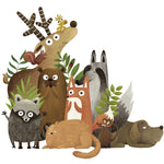 Forest Animals Wall Stickers