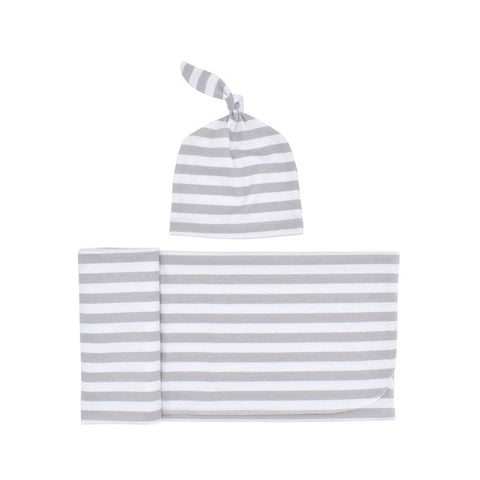 Newborn Striped Printed Blanket