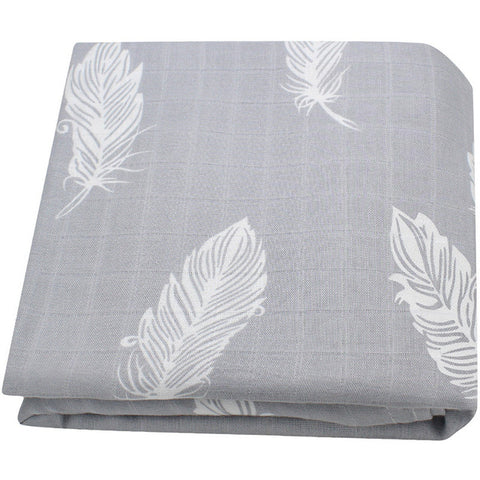 Feathers Baby Swaddle Blanket