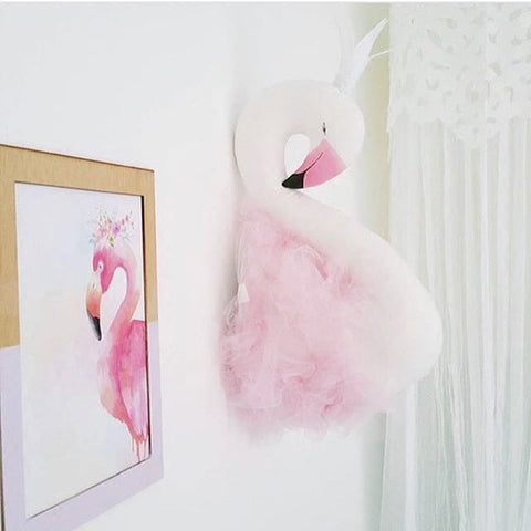 Baby Swan Wall Decor