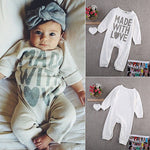 Made with Love Romper Jumpsuit - Cozy Nursery