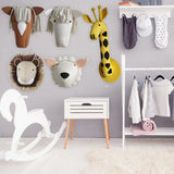 Animals Felt Wall Mounted Animal Head