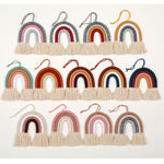 Nordic Hand-woven Rainbow Wall Decor - Cozy Nursery