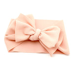 Adjustable Big Bow Baby Headband - Cozy Nursery