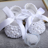 Newborn Pearl Shoes - Cozy Nursery