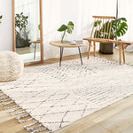 Moroccan Geometric Pattern Carpets - Cozy Nursery