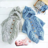 Baby Knit Romper - Cozy Nursery