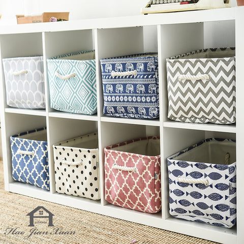 Fabric Storage Basket - Cozy Nursery
